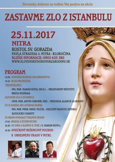 NITRA - Zastavme zlo z Istanbulu 3
