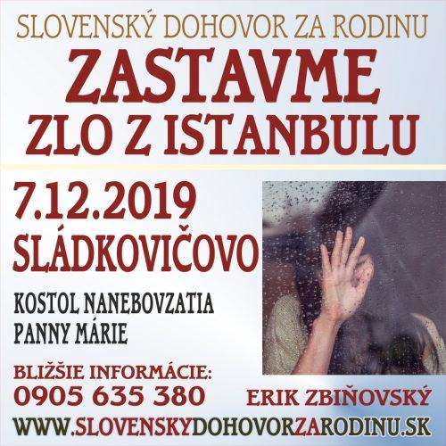 pozývame Vás na stretnutie SLÁDKOVIČOVO 7.12.2019 7
