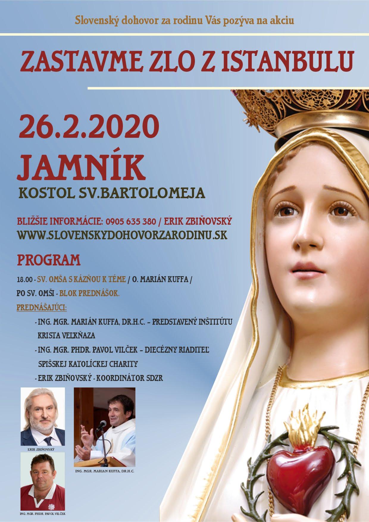 26.2.2020 – JAMNÍK ( pri Spišská Nová Ves) – KOSTOL SV.BARTOLOMEJA