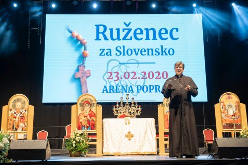 Ruženec za Slovensko - 23. február 2020 Poprad - registrácia 11