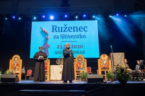 Ruženec za Slovensko - 23. február 2020 Poprad - registrácia 12