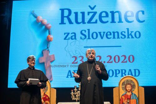 Ruženec za Slovensko - 23. február 2020 Poprad - registrácia 13