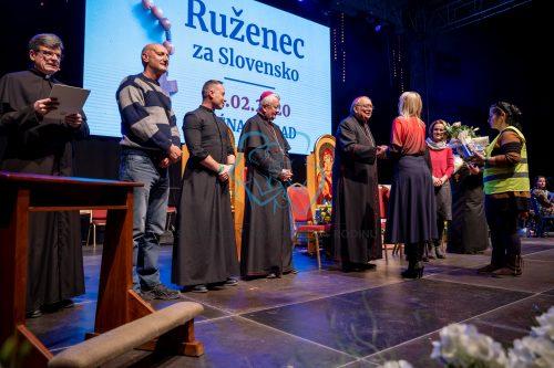 Ruženec za Slovensko - 23. február 2020 Poprad - registrácia 70
