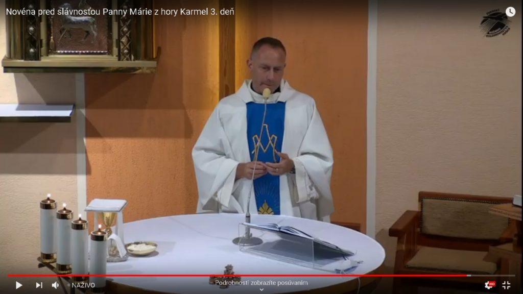 Novéna pred slávnosťou Panny Márie z hory Karmel 1-9. deň – o. Dominik Chmielewski SDB 2