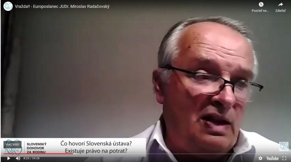 Vražda!! -  Europoslanec JUDr. Miroslav Radačovský 4