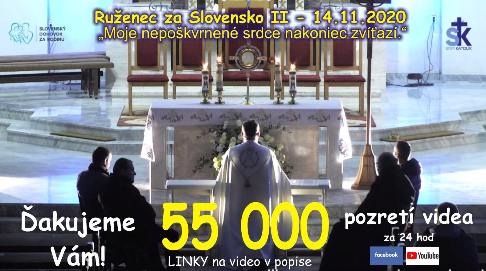 Ruženec za Slovensko Ďakujeme-vam