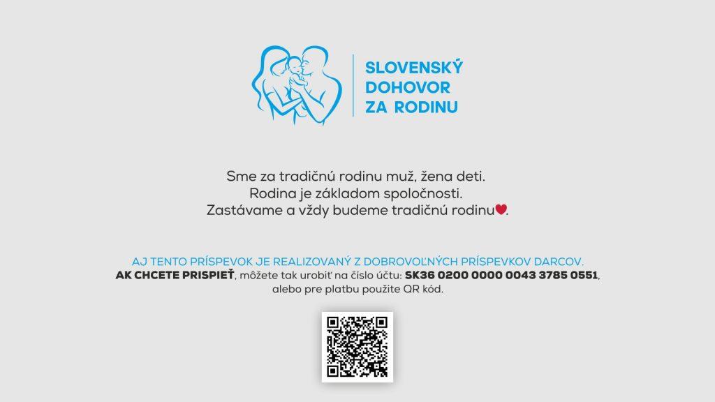 Slovenský dohovor - podporte nás