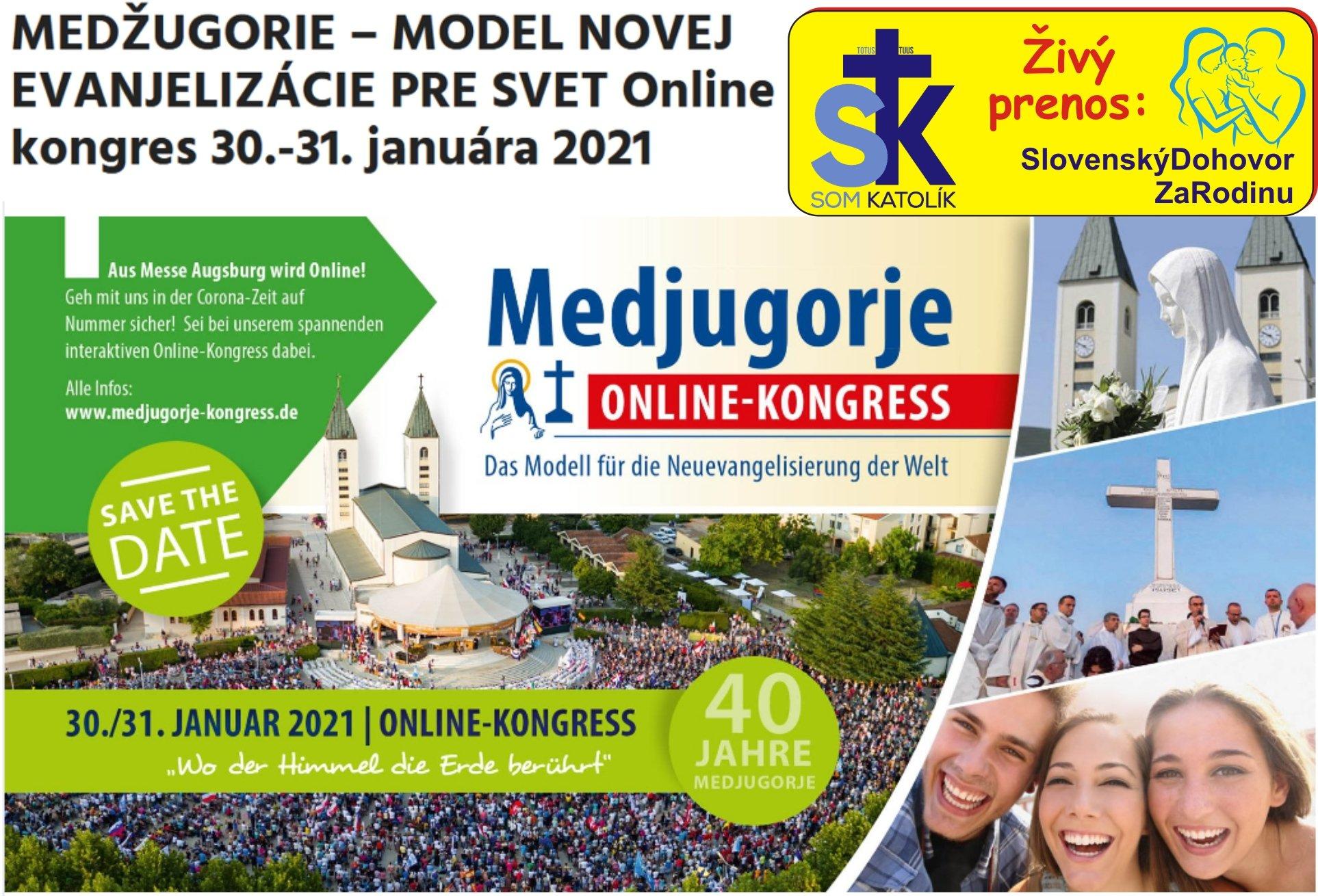 Medžugorie kongres 30-31.1.2021