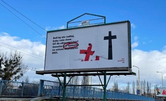Podporujeme kampaň Nehanbím sa za Ježiša - sčítanie obyvateľov 2021 2