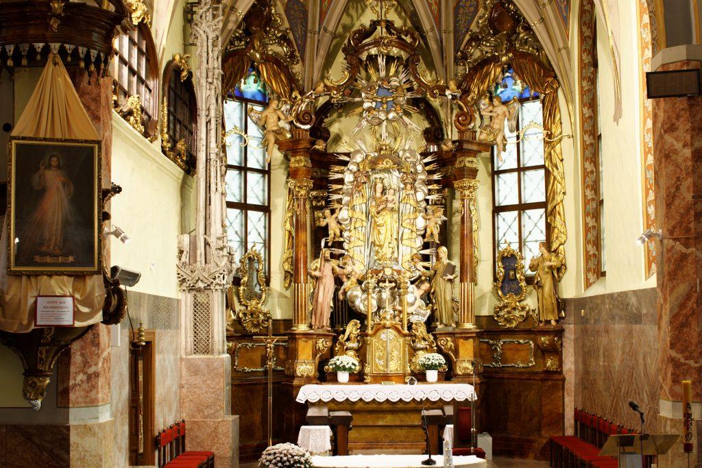 Pútnické miesto: Staré Hory – Karmelitáni 1