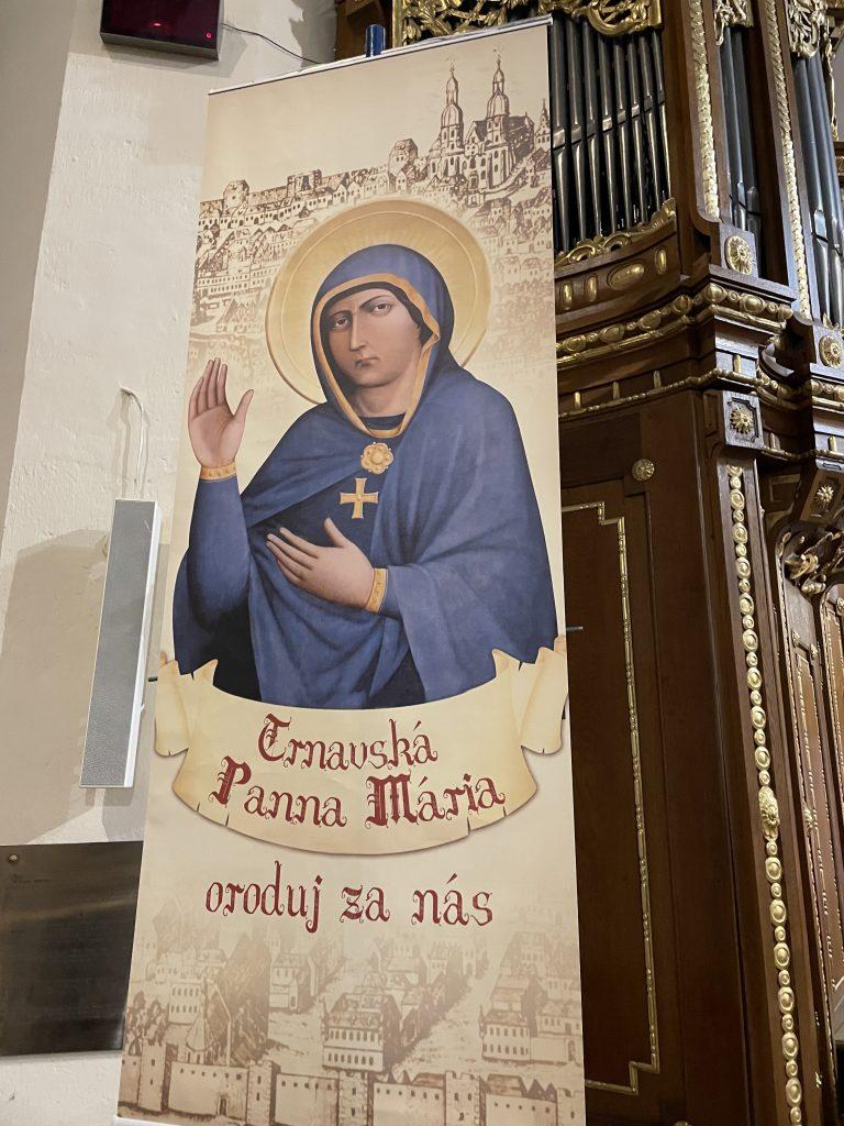 Pútnické miesta: Trnava- zázračný obraz milostivej a žehnajúcej Panny Márie Trnavskej 1