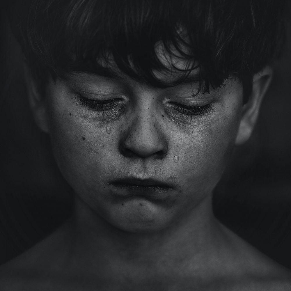 dieťa plače sdzr