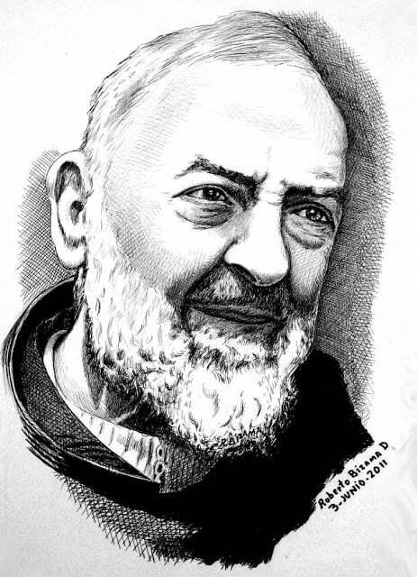 Modlitba sv. Pátra Pia, ktorú mu nadiktovala Panna Mária 3