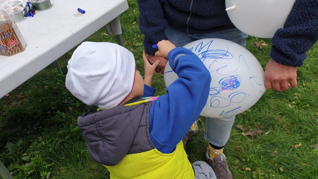 Balónový ruženec pre deti