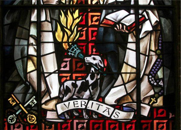 Žena, pes a fakľa - vízia o sv. Dominikovi 3