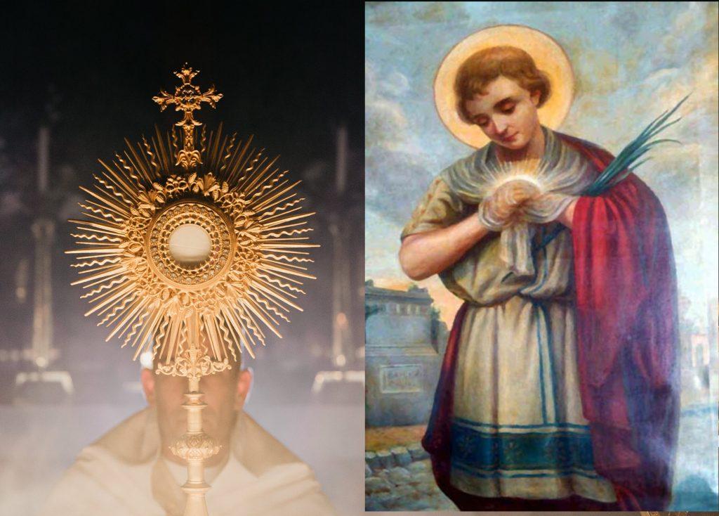 Sv. Tarzícius - chlapček, ktorý chránil Eucharistiu na vlastnom srdci 1