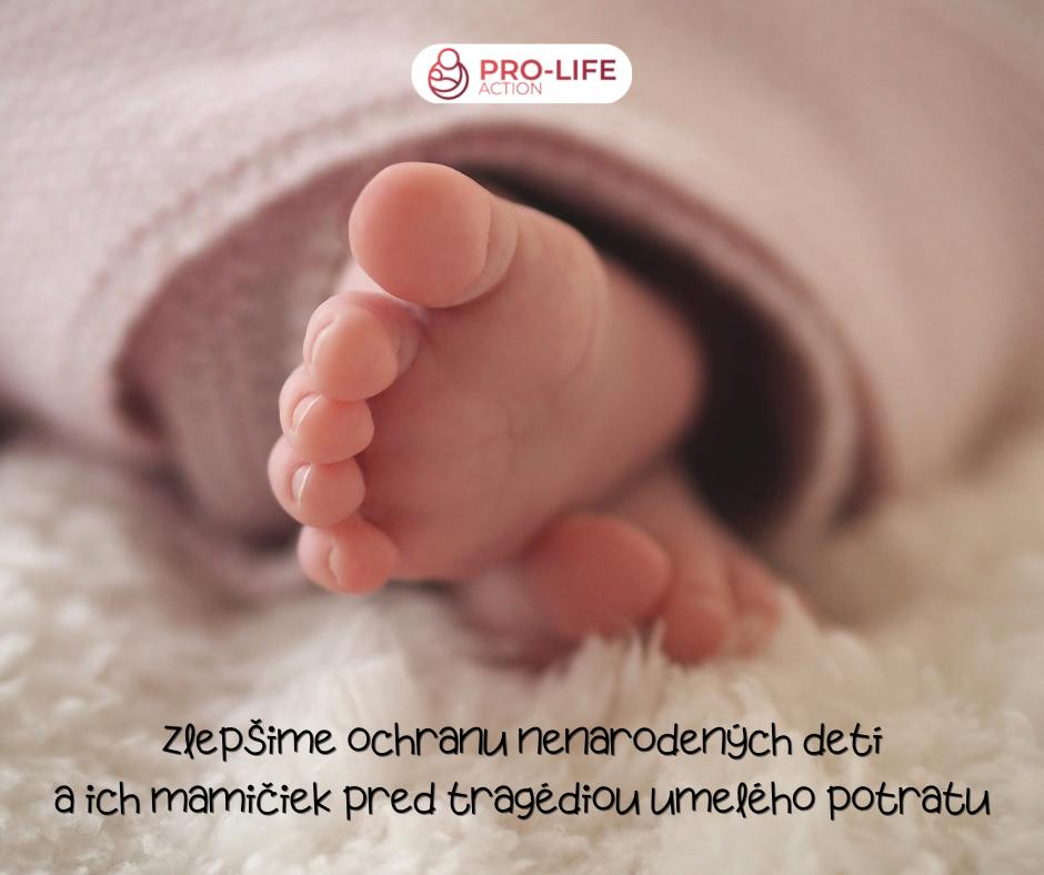 NEBUDEME MLČAŤ! Vyhlásenie pro - life organizácií k hlasovaniu o potratoch 4