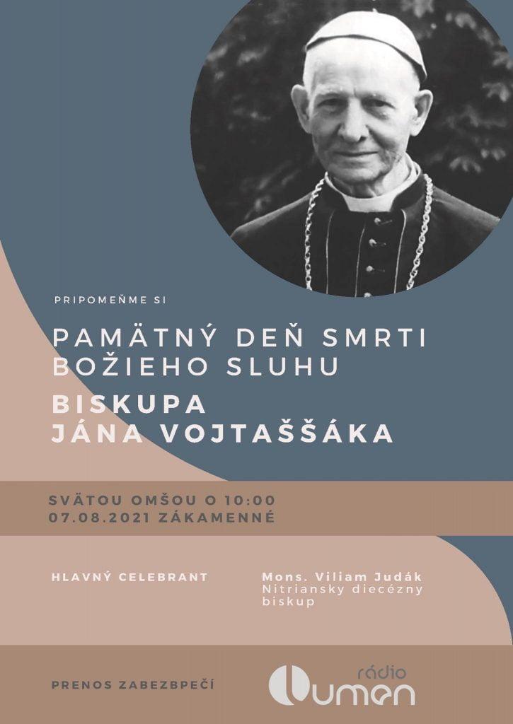 V Zákamennom si pripomenú deň výročia smrti biskupa Jána Vojtaššáka 1